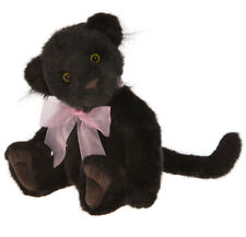 Chica by Charlie Bears - plush black panther teddy bear - Cb171701