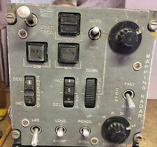RAF aviones GR4 Panavia Tornado Maping radar tierra Panel de control