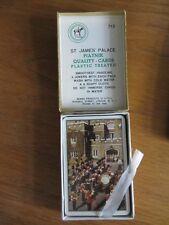 ST JAMES' PALACE 1950's  UNOPENED vintage PLAYING CARDS  PIATNIK