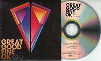 GREAT GOOD FINE OK Body Diamond EP 2014 UK 4-track promo test CD