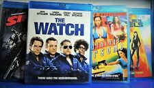 4 Blu-Ray Movies, Sin City, Charlies Angels, The Watch, Wild Things Foursome....