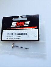 E431 Tail Shaft & Hub Metal By MS Composite Hornet New In Package