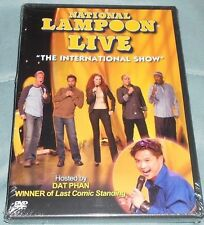 """National Lampoon Live: """"The International Show"""" DVD Region 1, New"""