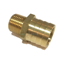 Brass 3//8 x 1//2 0.38 ID 0.38 ID Campbell Fittings BM-0608 Barbed Hose Male 3//8 x 1//2