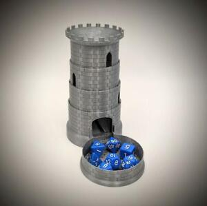 Collapsible Dungeons And Dragons Dice Tower