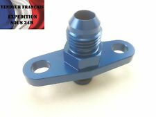 Adaptateur circuit d'huile turbo, diam 15,9 mm entraxe 38,1 mm VENDEUR FRANCAIS