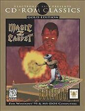 Video Game PC Magic Carpet 2 The Netherworlds Gold Edition NEW SEALED BOX