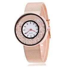 Luxury Womens Ladies Quartz Crystal Stainess Analog Quartz Dial Wrist Watches