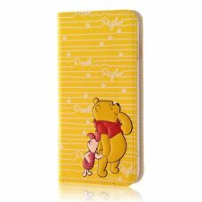 Ray-Out Notebook type Case for iPhone7 Plus Disney Winnie the Pooh RT-DP13T/PO