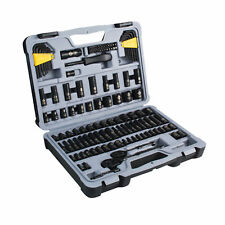 Stanley STMT72254 123-Piece Master Mechanics Black Chrome Socket Set