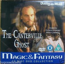 THE CANTERVILLE GHOST DVD. PROMO PATRICK STEWART(FREE UK POST)