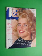 Lei Glamour rivista magazine Giugno 1986 June Kate Mailer walker vanessa Erdmann