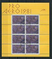 Schweiz Helvetia  KB 1196 gestempelt Kleinbogen mit Ersttagsstempel ETSST used