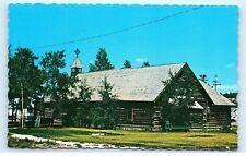 *The Old Log Church Whitehorse Yukon Canada Old Vintage Postcard B79