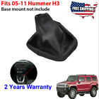 Black Shifter Boot Cover Leather Wstitches For 2005-2011 Hummer H3 Automatic