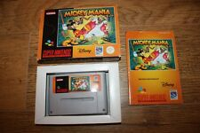 Jeu Mickey Mania pour console Super Nintendo SNES en boite complet