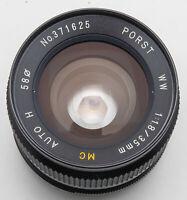 Porst WW 35mm 35 mm MC Auto H 1.8 1:1.8 - M42 Anschluss