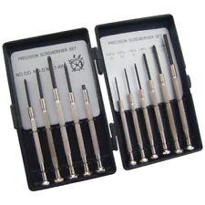 11 Piece Precision Mini Screwdriver Set - 5 Phillips Head 6 Flat Head L0500