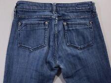 """UNDERGROUND SOUL Womens Size 3 x 30"""" Skinny Stretch Dark Wash Blue Jeans"""