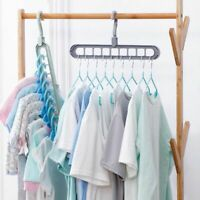 Multi-port Support Circle Clothes Hanger Clothes Drying Rack Multifunction Plast