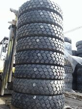 Lot of 8 Used Michelin XZL 11.00R20 Drive, High Treads, off road, farm tires