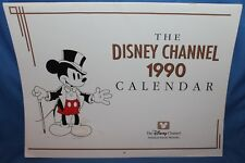 Vintage The Disney Channel 1990 12 Month Calendar