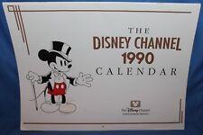 VINTAGE The Disney Channel 1990 12 Month Calendar