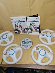 Wii Mario Kart And 4x Wheels