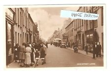 RP Main Street Larne County Antrim Northern Ireland used locally in 1947