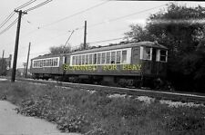 Sep 1965 CTA Chicago Transit Authority Trolley #4290 ORIGINAL PHOTO NEGATIVE