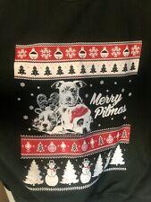 """""""Merry Pitmass� ugly christmas sweater sweatshirt pitbull xmas pibble"""