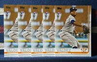 2019 Topps Series 2 #376 Framber Valdez RC Houston Astros Rookie LOT x 5 NM