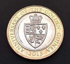 £2 Coin Golden Guinea 2013 FREEPOST