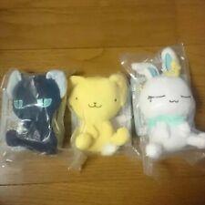 Cardcaptor Sakura plush Stuffed Doll Mascot Takara Tomy Kero-chan Suppy Momo set