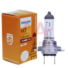 Genuine Philips H7 Premium bulbs + 30% more light