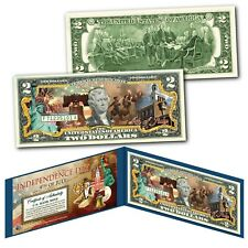 Independence Day 4th of July Genuine U.S. $2 Bill - Spirit of 1776 Drummers