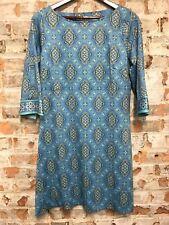GRETCHEN SCOTT Jersey DEBUTANTE Dress in Persian Periwinkle Size Large NWT