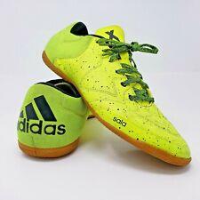 Adidas Mens Sala Indoor Soccer Futbol Shoes Neon Size 9.5