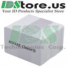 200 MIFARE Classic  1k Blank White PVC Cards, CR80, 30 Mil,GQ, Credit Card size