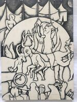 Drawing by unknown artist, signed (AH! 79). Original signed
