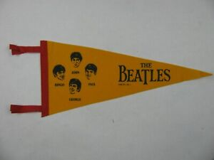 THE BEATLES PENNANT  1970's ISSUE
