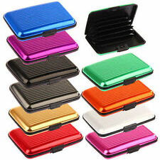 Cartera aluminio Aluma Wallet tarjetero bolsillo tarjetas carnet dni resistente