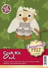 Create Your Own Felt Character Craft Kit Owl