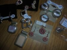 Scrap or to wear Sterling Silver jewelry lot 118.9 grams (9 pieces)