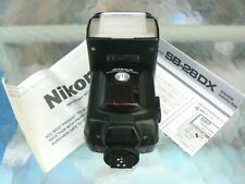 NIKON SPEEDLIGHT SB-28DX FLASH WITH INSTRUCTIONS *TESTED & WORKING