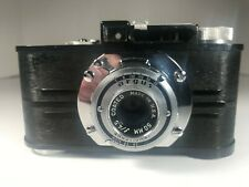 Argus Anastigmat Vintage Camera With F/4.5 50 mm Lens With Case