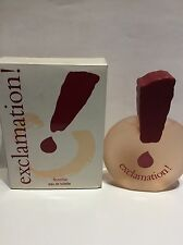 EXCLAMATION DE COTY ASTOR EAU TOILETTE  100 ML NEW RARE DESCATALOGADA