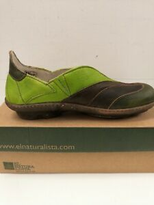 El Naturalista Women's Pull Grain Leather Shoes - Brand New in Box