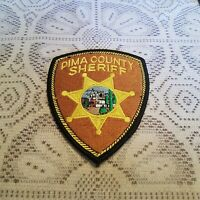 Pima County Sheriff Police Patch Crest Applique Logo