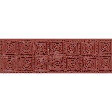 Color Box TEXTURE Impression MOLDING MAT Clay Paper Crafts JUMBO SWIRL BLOCKS